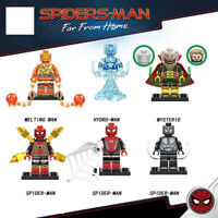 Marvel Venom Spiderman Away From Home Hydro Man Mysterio Building Blocks New