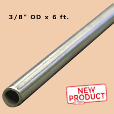 Round Tubing 304 Stainless Steel 38 Inch Od X 6 Feet Welded 0319 Inside Dia