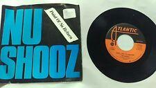 Nu Shooz ~ Point of No Return Thru Motions ~ Atlantic ~ 45RPM Record Vinyl