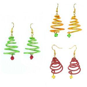 Christmas Tree Earrings, Christmas Gift