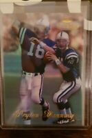 1998 Peyton Manning Topps Gold Label Class 1 Rookie Card #20 Indianapolis Colts
