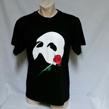 VTG 1986 Phantom Of The Opera T Shirt 80s Mask Play Broadway Tee Movie Dog Large
