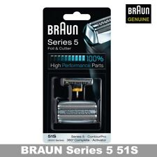 Braun 51S Combi 51S 8000FC Activator screen foil and cutter blade /GENUINE