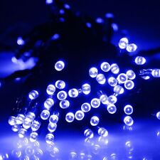 200 LED String Solar Powered Fairy Lights Garden Party Xmas Warm White Color