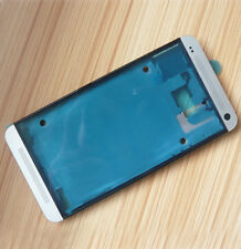 Silver LCD Housing Screen Frame Panel Replacement For HTC One M7