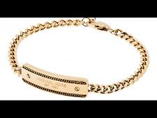 MICHAEL KORS Women's MK Logo Plaque Gold Adjustable Chain Bracelet MKJ5883710