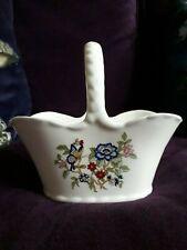 Royal Tara Fine Bone China Floral Design Basket