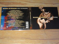 MARK BURGESS - MAGIC BOOMERANG / DIGIPACK 2-CD-SET 2004 MINT-