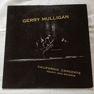 GERRY MULLIGAN - CALIFORNIA CONCERTS PACIFIC JAZZ PJ 1201 - JAPON 1978 - VINYL