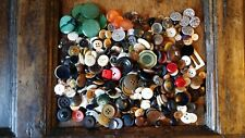 VINTAGE LOT VARIOUS ASSORTED BUTTONS