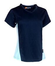 Womens Large GRAYS G600 Traing T Shirt Top Navy Hockey Skirt Skort Ladies