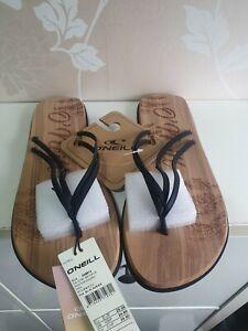O'neill Ditsy Womens Footwear Flip Flops SIZE 7/8 EU 41 NEW FREE UK POSTAGE