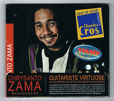CHRYSANTO ZAMA - GUITARE DE MADAGASCAR - CD 13 TITRES - 2015 - NEUF NEW NEU