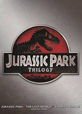 JURASSIC PARK TRILOGY 1 2 3 (DVD) Factory Sealed FAST SHIPPING