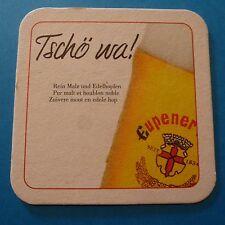 Beer Sous-bock Coaster >^< Brauerei HAACHT Eupener Bier ~ Boortmeerbeek, Belgium