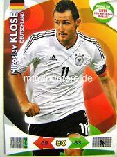 Adrenalyn XL - Miroslav Klose - Deutschland - Road to 2014 FIFA World Cup Brazil