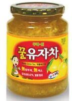 HONEY YUJA CITRON TEA 580g/1kg VITAMIN C/CITRIC ACID/LIQUEFIED_0C