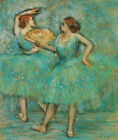 Two Dancers Edgar Degas Fine Art Print CANVAS Painting Giclee Repro Small 8x10