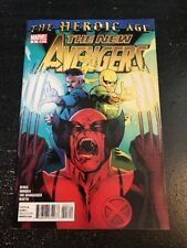 """The New Avengers#3 Incredible Condition 9.2(2010) Immonen Art""""Heroic Age"""""""