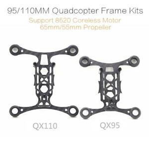 95/110mm Tinywhoop Quadcopter Drone Frame Kits Support 8520 Coreless Motor
