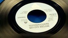 BAY CITY ROLLERS - Yesterday's Hero / My Lisa - NEAR MINT- 1976 Canada Press 45