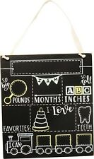 Milestone Chalk Board - Baby - So Big; So Tall; I Love