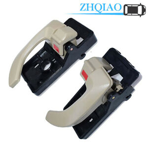 Beige Inside Door Handle RH For Hyundai Tucson 05-09