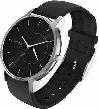 Withings Move Timeless Activity & Sleep Tracking Smart Watch Metal Case - Black