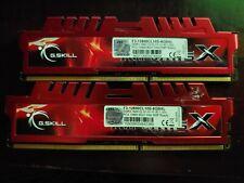 G. SKILL 8 GB UDIMM 1600 MHz PC3-12800 DDR3 Memory (F3-12800CL10S-8GBXL) x2 16GB