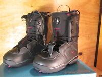 Salomon Ivy Snowboard Boots Black Autobahn Pink Various Sizes