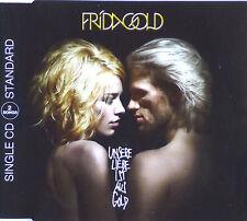 Maxi CD - Frida Gold - Unsere Liebe Ist Aus Gold - #A2338 - RAR