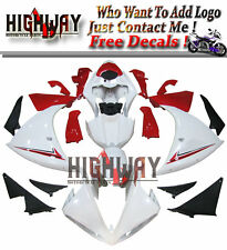 Fairings For Yamaha YZF R1 09 2009-2011 Injection ABS Fairing Kit ABS White Red