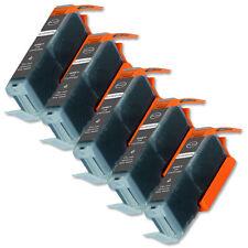 5 PK GRAY Premium Ink + Chip for Canon CLI-251XL Pixma MG6320 MG7120 MG7520