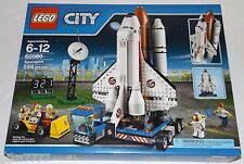 LEGO City SPACEPORT 60080 astronaut space shuttle mobile launchpad satellite