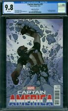 Captain America 25 CGC 9.8 - White Pages - Hughes Variant Cover