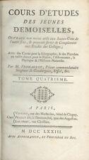 Cours d'études des Jeunes Demoiselles/Abbé Fromageot/Tome 4/Histoire/1773