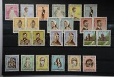 B2 Europa Luxemburg 649-654, 759-764 (2x) & 779-784 alles postfrisch