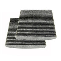 2PCS Cabin Air Filter with Activated Carbon AC Clean for Toyota 87139-07010