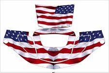 3m Speedglas 9000 9002 X Xf Auto Sw Welding Helmet Decal Sticker American Flag