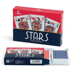 Carte da Gioco Juego Stars Ramino Originali 2 Mazzi Di Carte Da Poker