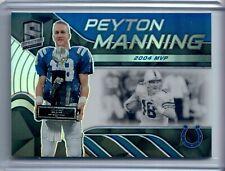 New listing 2020 Panini Spectra PEYTON MANNING 2004 Super Bowl MVP SP #83/99 - Colts