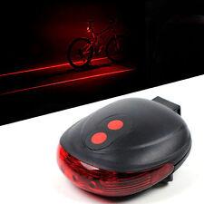 LASER LED luce di sicurezza bicicletta U