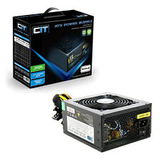 CIT 600w Black Edition PSU 12cm SINGLE 12v CE PFC modello 600ub