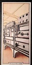 RMS QUEEN MARY  Cunard   Marine Catering   Electric Ovens     Vintage Card