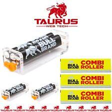 3 x BULL BRAND Slim Ultra Cigarette Roller COMBI Adjust Tobacco Rolling Machine