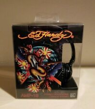 Ed Hardy AMP-13 Stereo Headphones Compatible with iPod & iPhone New *Rare* 2009