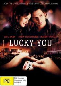 Lucky You (DVD, 2007) Eric Bana_Drew Barrymore_Robert Duvall_R4 AUST