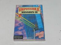Impossible Mission II 2 Nintendo NES Original Brand New Sealed FS Original Owner