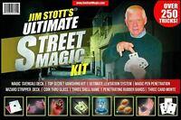 Jim Stott's Ultimate Street Magic Kit Magic Set For Adults Over 250 Tricks NEW