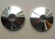 2 colliers tuyau radiateur, fond en plastique chrome couvre pour s' adapter 15mm tuyaux, oracstar